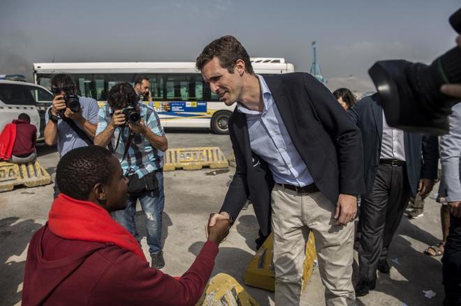 """Pablo Casado apuesta por un Plan Marshall para África y acusa al """"populismo"""" de alentar el """"efecto llamada"""""""