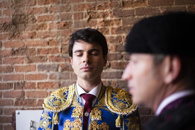 Retrato de Toñete en Las Ventas