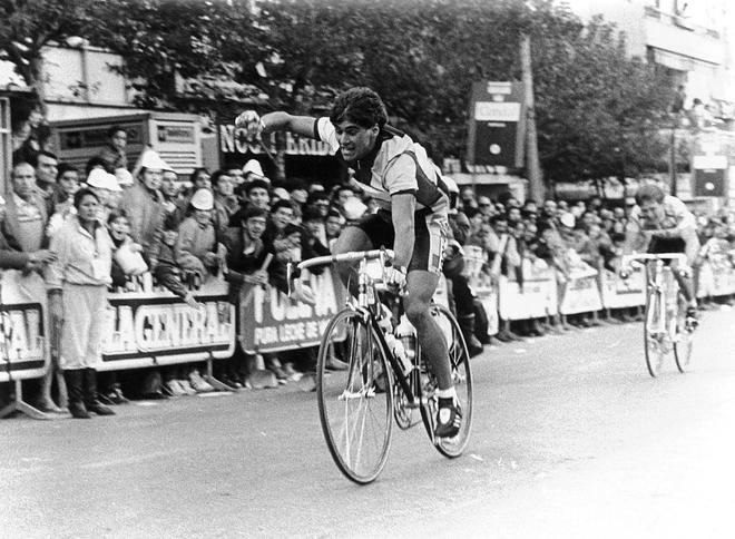 El ganador de una etapa en el Giro 1988 se