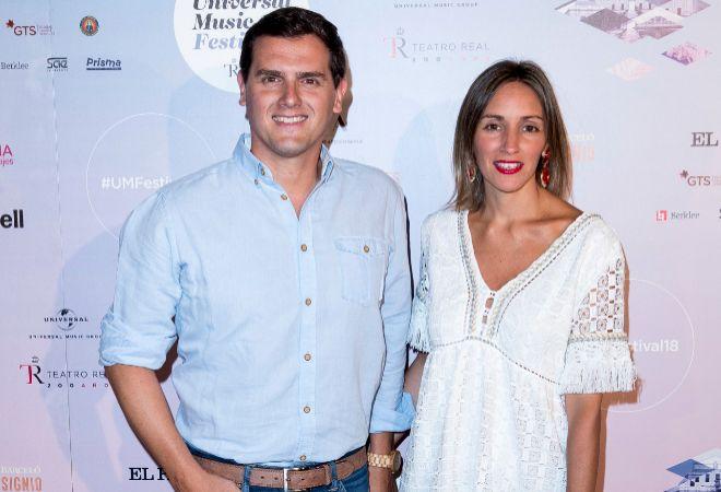 Albert Rivera y Beatriz Tajuelo, en una imagen de esta semana.