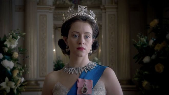 Claire Foy en 'The Crown'.