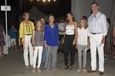 Los Reyes acudieron junto a sus hijas, la infanta Elena, la reina...