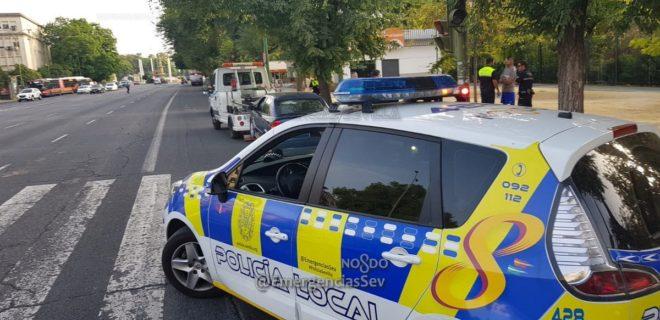La Policía Local de Sevilla interceptó y retiró de la circulación el coche del miembro de La Manada tras el robo.