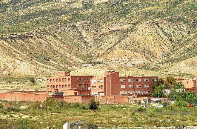 Exteriores de la cárcel Fontcalent