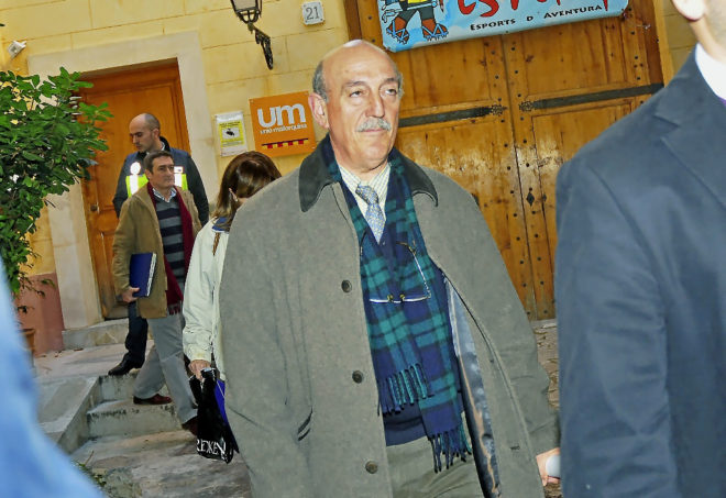El ex máximo responsable de la Policia Judicial de Baleares, Antonio Cerdà.