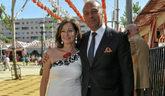 Ana Rosa Quintana, junto a su marido Juan Muñoz.