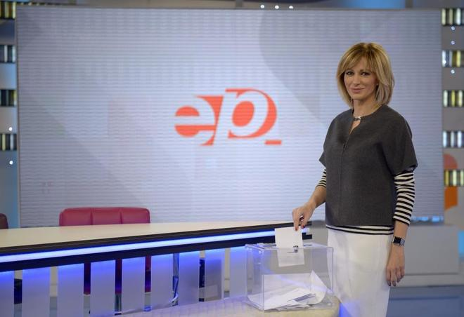 Susanna Griso, presentadora del magazine de Antena 3 'Espejo Público'.