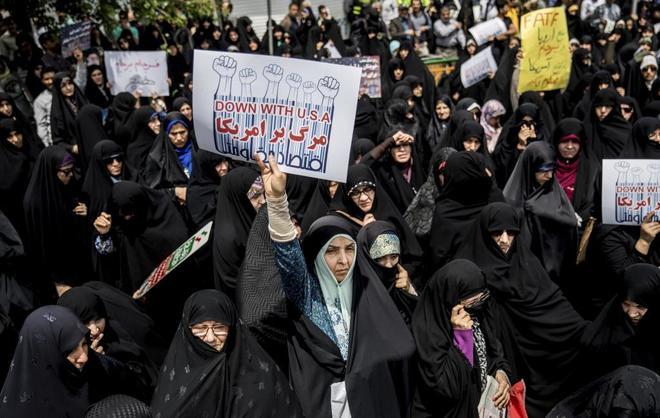 Resultado de imagem para Los iraníes se asoman al abismo de las sanciones