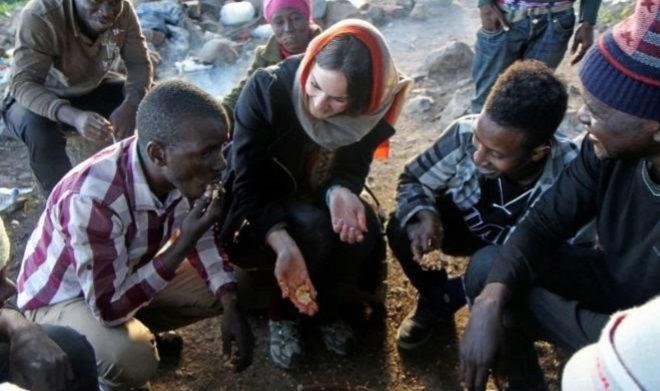 Isabela Alexander, andropóloga de EEUU, viajó a Marruecos, Ceuta y