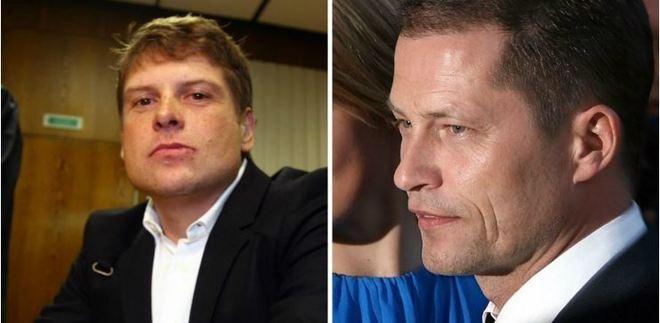 Jan Ullrich y Til Schweiger.