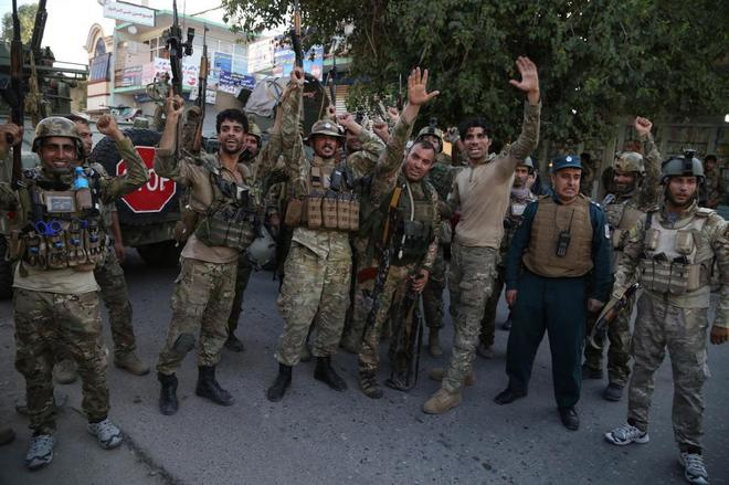 Los talibán anuncian la derrota del Estado Islámico en el norte de  Afganistán 539321bb79a21