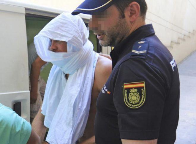 El ex ciclista alemán Jan Ullrich, a su llegada a los juzgados de...
