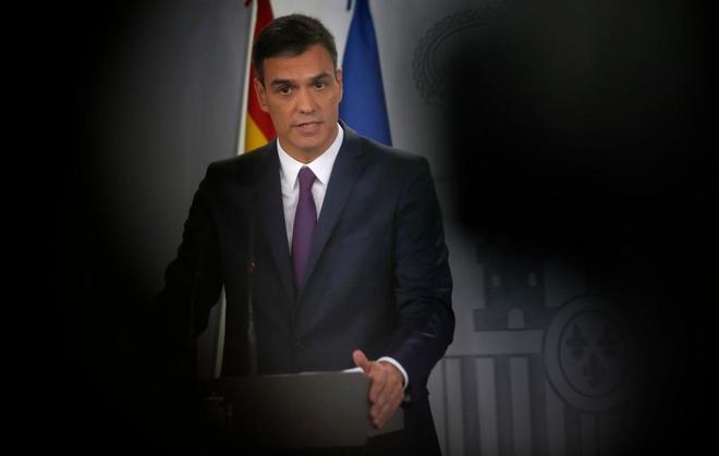El presidente del Gobierno y líder del PSOE, Pedro Sánchez