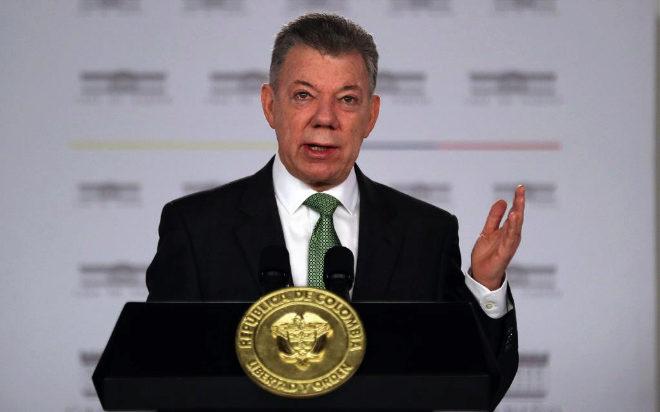 El presidente colombiano, Juan Manuel Santos, en una imagen reciente.