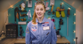 La joven inventora sueca es capaz de imaginar cualquier robot.