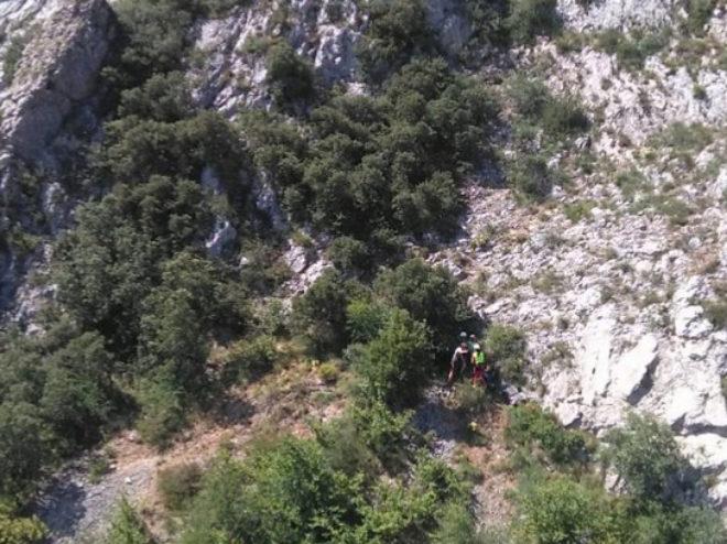 Un montañero de 32 años ha sido evacuado este domingo