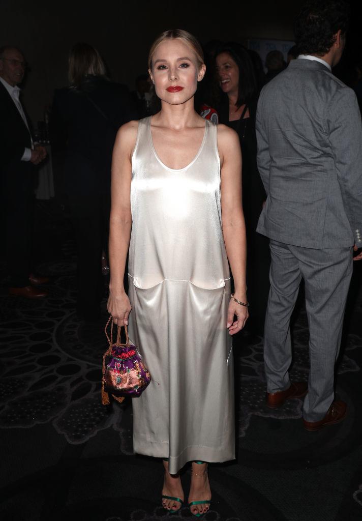 La actriz acudió a los premios TCA (Asociación de Críticos de...