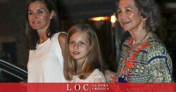 Durante sus vacaciones en Palma, la Reina Letizia y sus
