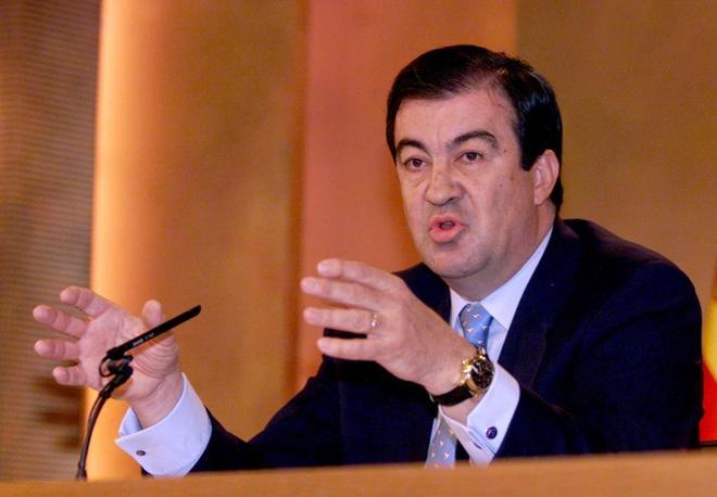 El ex ministro del Fomento, Francisco Álvarez Cascos
