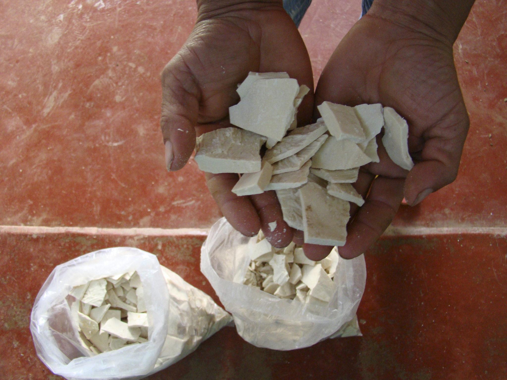 Base de coca en el municipio de Argelia, al sur del Cauca.