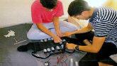 Los terroristas del 17-A fabrican un cinturón con explosivos