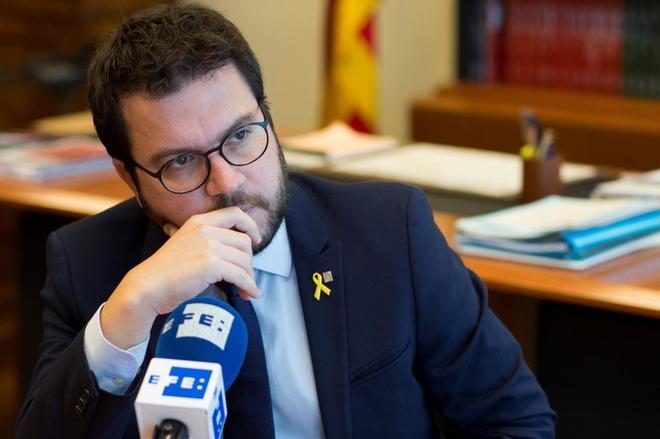 Pere Aragonès, de `número dos` de Economía a conseller y