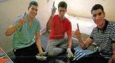 Mohamed Houli, Youssef Aalla y Younes Abouyaaqoub, en una captura del...