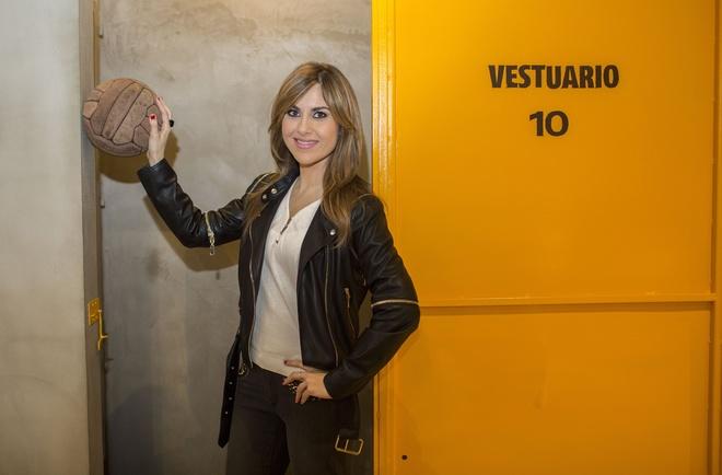 La periodista deportiva Susana Guasch.