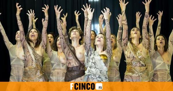 `Las amazonas`, feminismo milenario en MéridaLa actriz madrileña Silvia Abascal