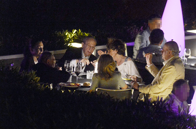 Así fue la última fiesta del Rey Juan Carlos en su verano más complicado