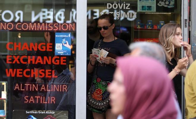 La lira turca ha llegado a caer este viernes más
