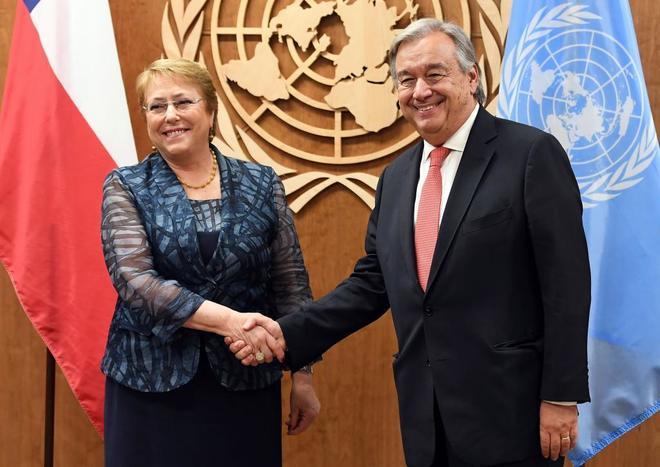 Los países de la ONU confirman a Michelle Bachelet como alta comisionada para los Derechos Humanos