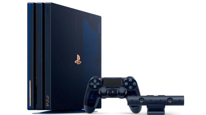Una PS4 translúcida para celebrar los 500 millones de unidades  vendidas