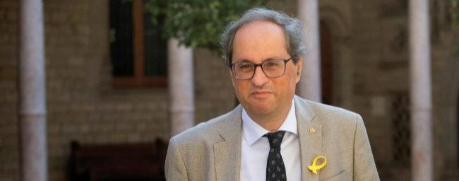 """Torra ve """"razonable"""" aparcar la República si el Gobierno propone un referéndum"""
