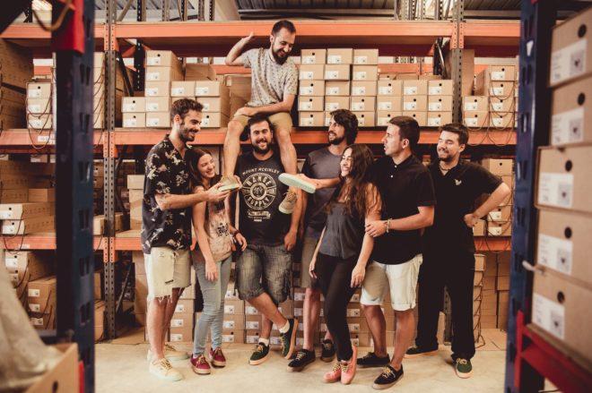 El equipo de la firma ilicitana Flamingo's Life .
