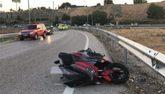 Accidente en la A-3 en el que ha muerto un joven y otro ha resultado...
