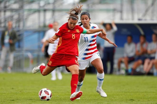 La selección española Sub-20 femenina ha sellado este lunes su