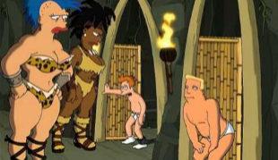 Futurama hizo referencia al 'giantess' en uno de sus capítulos.