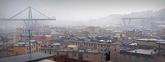 Cien metros del puente que atraviesa Génova se han derrumbado sobre...