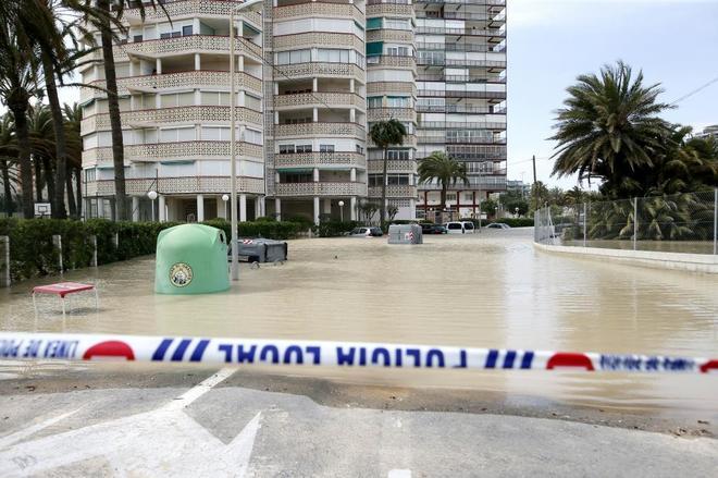 Inundaciones en las urbanizaciones de la en San Juan
