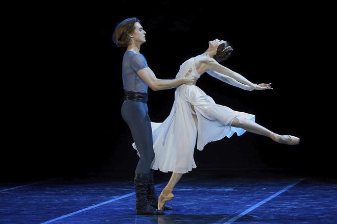 La bailarina Svetlana Zakharova y Denis Rodkin en 'Francesca Da Rimini'