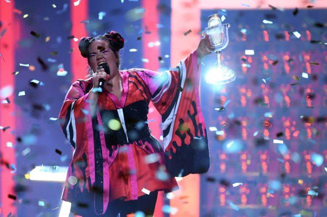 La cantante israelí Netta, ganadora de Eurovisión 2018.
