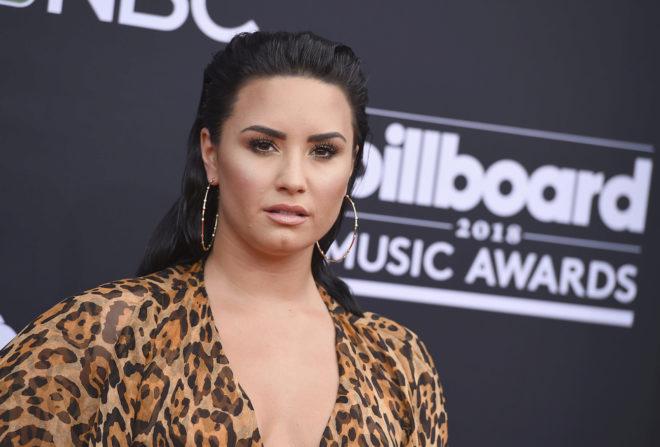 Demi Lovato en los premios Billboard 2018