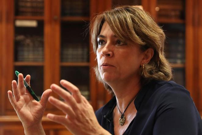 """La ministra de Justicia: """"En  España se han evitado atentados terroristas yihadistas"""""""