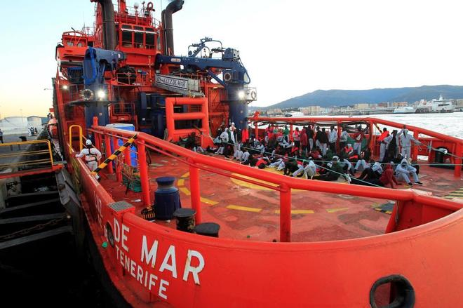 Salvamento Marítimo ha interceptado a 524 personas a bordo de