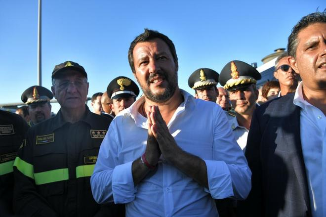 Tragedia en Génova: Italia activa