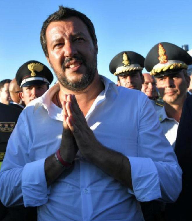 EL MUNDO entrevista en exclusiva a Matteo Salvini, vicepresidente de