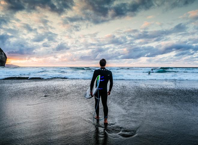 Es fundamental aprender a surfear de la mano de monitores o escuelas tituladas.