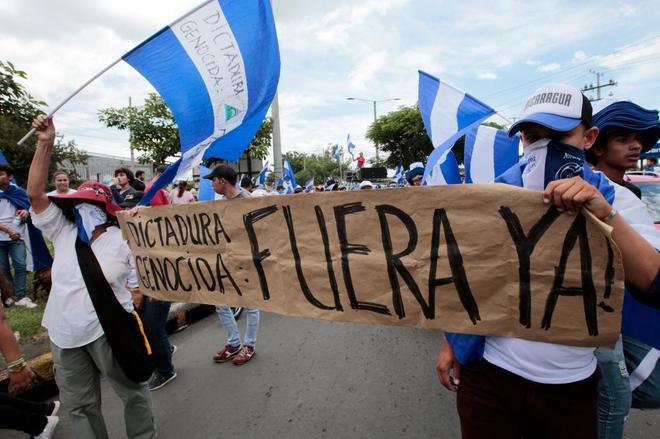 La primavera centroamericana arde en NicaraguaSeis asesinatos de manifestantes al