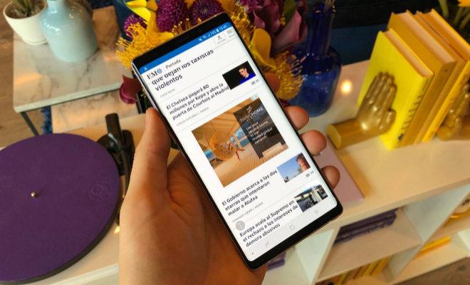 b6767f5624b Pequeño no es  es uno de los móviles con la pantalla más grande de este año